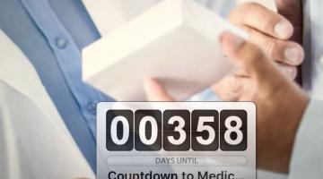 countdown for medicines verification